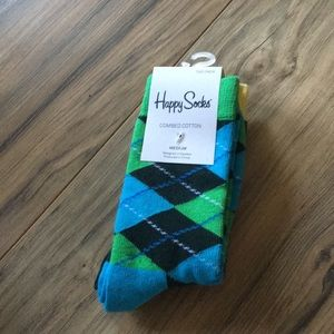 NWT boy's 2 prs of Happy Socks
